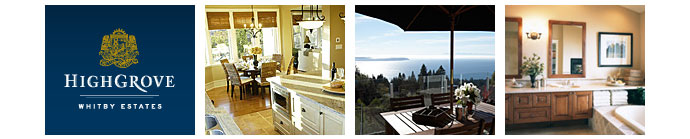 The luxury West Vancouver Highgrove at Whitby Estates homes for sale are represented by Shirley Clarke realtors.