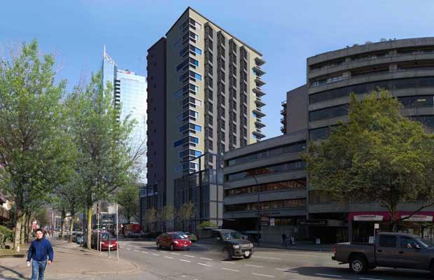 1134 Burrard Street Vancouver real estate development.