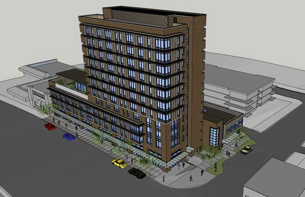 Proposed Vancouver supportive housing at 675 East Broadway.