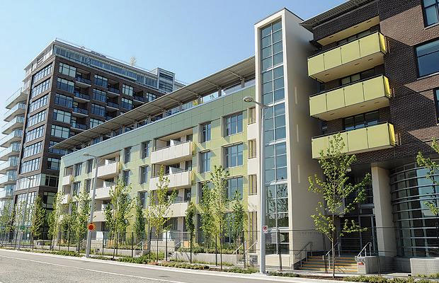 The homeless initiative features the Millennium Water Vancouver Supportive Housing component.