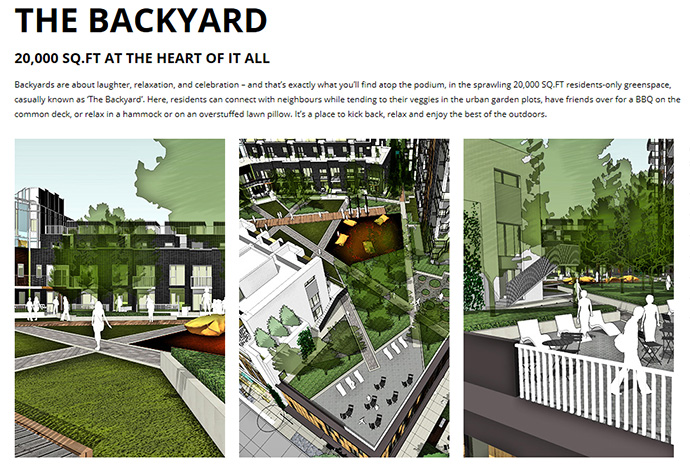 The Backyard at The Independent Vancouver is an outdoor amenities area for private use.