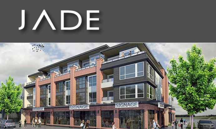 Boutique JADE Vancouver East condo building now selling at Fraser & 43rd Avenue.