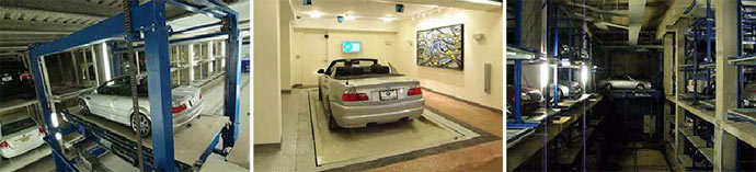 An automated parking system at Jameson House Vancouver real estate development is a high-rise first.