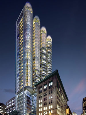 Foster + Partners presents the downtown Vancouver Jameson House condo presales, a unique real estate development featuring organic suites, environmental design and fine finishes.