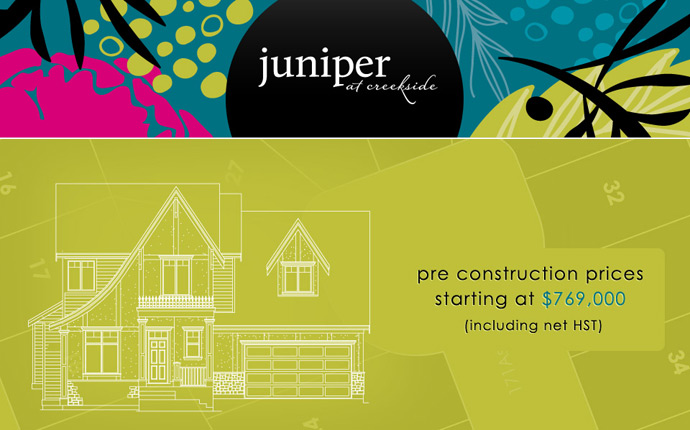 South Surrey Single Family Homes at Juniper by Isle of Mann Group