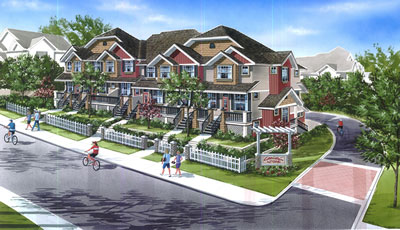 Presale Surrey Townhouses at Kallisto by Lakewood Homes presents boutique executive family sized homes.