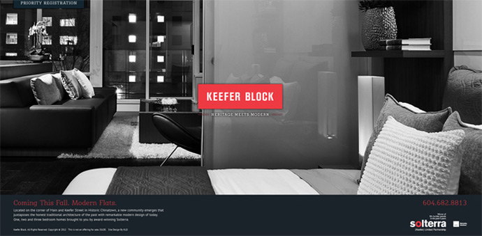 Keefer Block website.