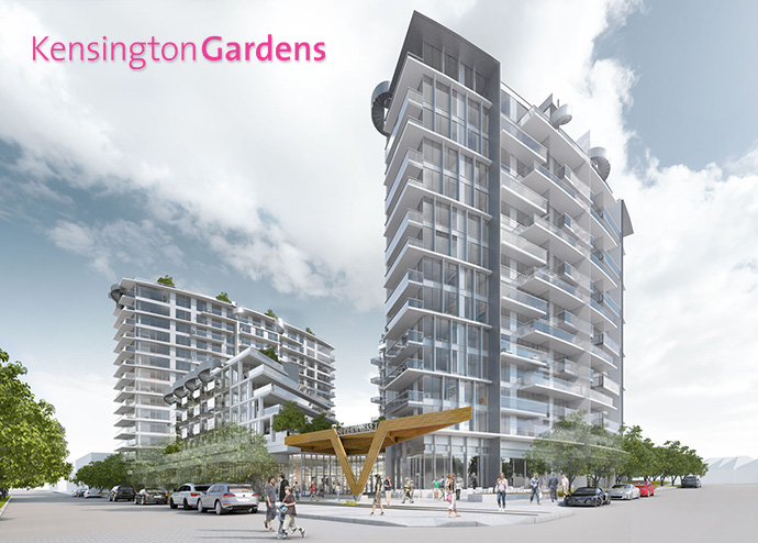 The West Tower at Westbank Kensington Gardens Vancouver presale condos for sale!