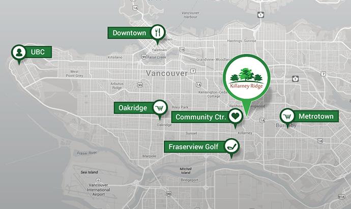 Vancouver Killarney map.