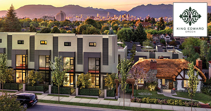 Vancouver luxury real estate for sale along West King Edward Avenue.