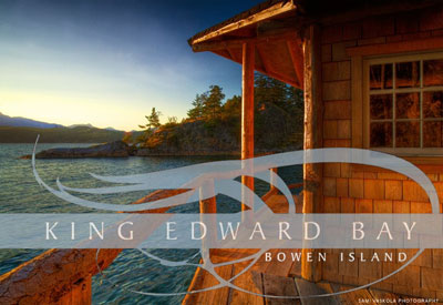 Located just a few minutes boat ride from luxury West Vancouver real estate, the King Edward Bay Bowen Island waterfront lots for sale are now being discounted for final sales.