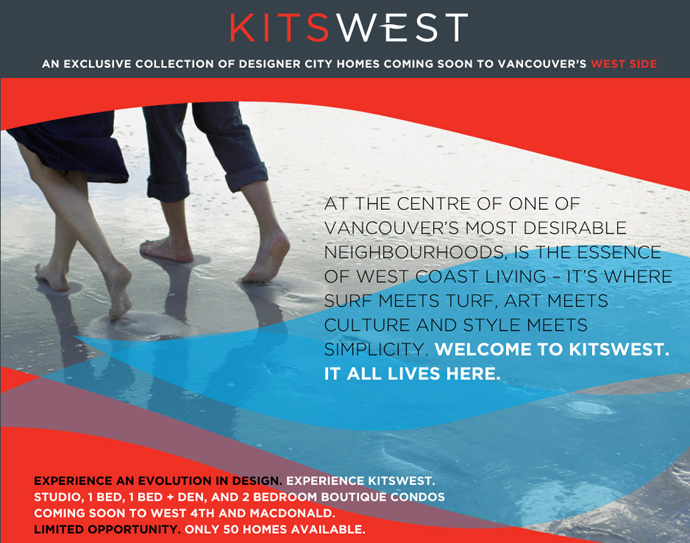 VIP Registration starting for KitsWest Vancouver Condos for Sale.