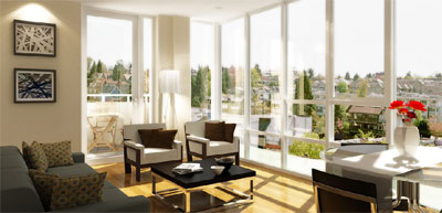 Final release of luxury Vancouver KORE Kits condos for sale right now at Burrard and 3rd Avenue by Toyo Developments.