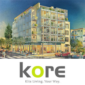 The boutique Kits condos at KORE Vancouver real estate development are now launching presales.