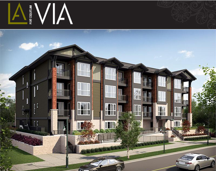 La Via Port Coquitlam real estate development by Circadian Developers.