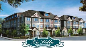 Ready for the summer of 2009, the La Villa Townhomes in Richmond are new townhouses of three or four bedrooms and available now at pre-sales pricing.