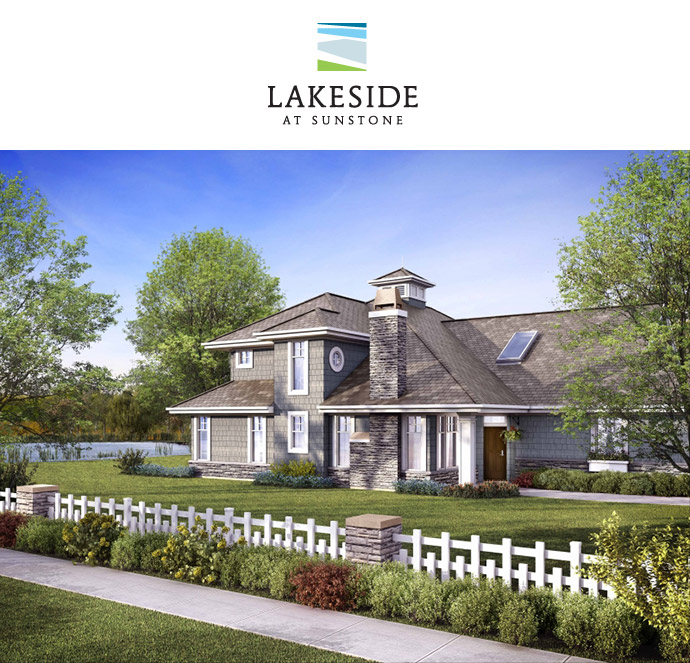 Polygon Lakeside at Sunstone Delta real estate development