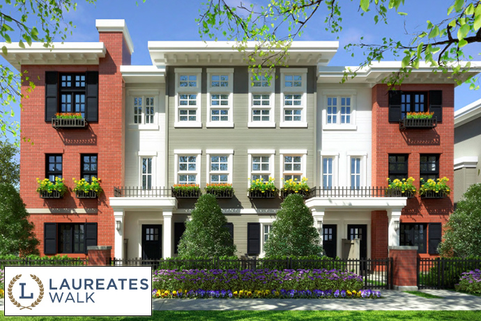 South Surrey Laureates Walk Harvard Gardens Townhomes for sale.