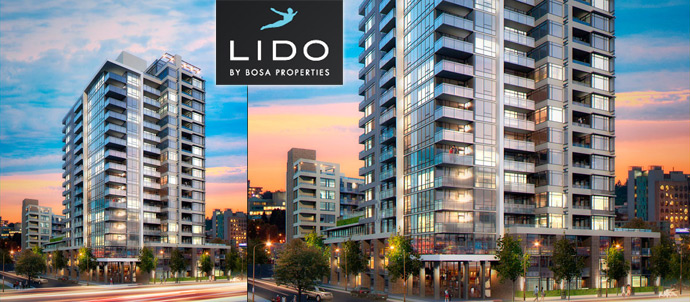 The Lido by Bosa Properties.