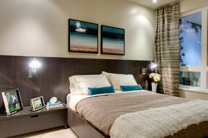 The amazing bedrooms at LIFT condo living.