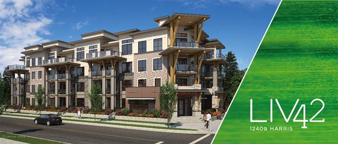 Boutique Pitt Meadows LIV42 Apartment Building by Kerkhoff Construction