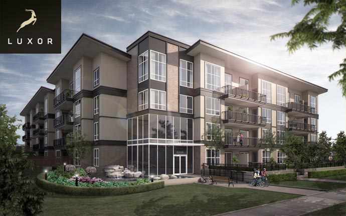 The premiere Surrey real estate development at the Luxor Condominiums are now selling.