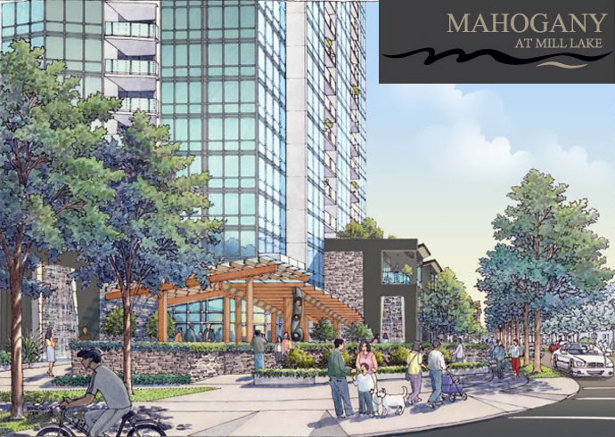 Mahogany at Mill Lake Abbotsford real estate development.
