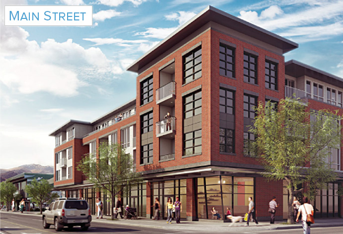 Bluetree Homes on Main Street Vancouver apartments for sale.
