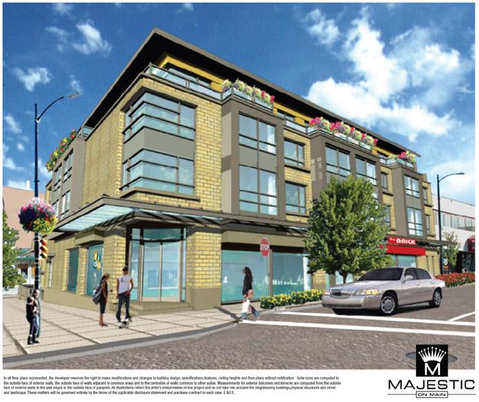 East Vancouver Majestic on Main Condos by Trafalgar Enterprises.