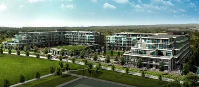 The Mandalay Richmond luxury residences and pre-sales condos are a Cressey property development that is selling very quickly.