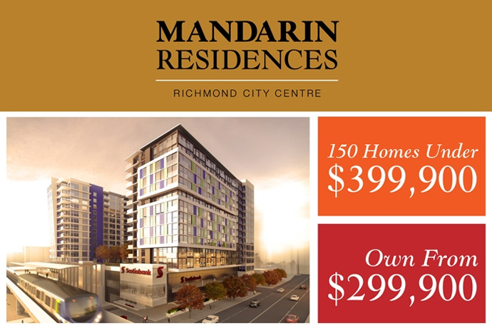 The Mandarin Residences Richmond real estate development.