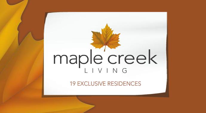 The Maple Ridge Maple Creek Townhome community logo