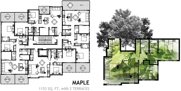 Another Maplewood Floor Plan sample.
