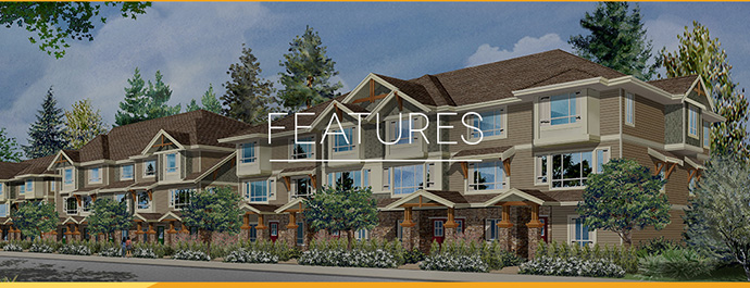 New Marquee Langley townhomes for sale.