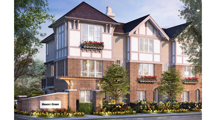 Polygon Mason&Green Langley Townhomes for sale.