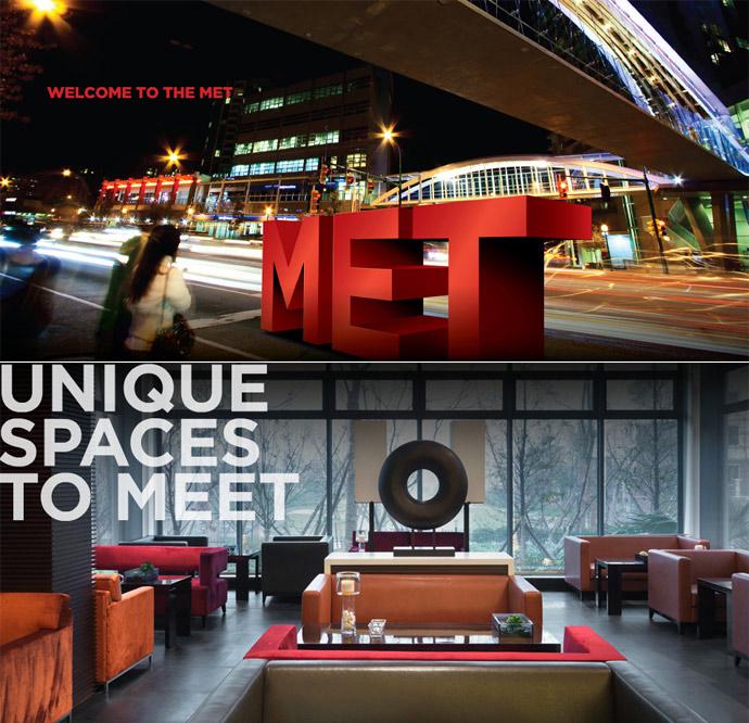 The MET Metrotown Burnaby condos.