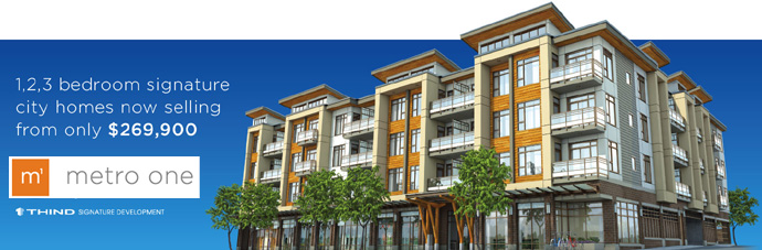 Metro One Burnaby Metrotown real estate development by THIND Signature Developments.