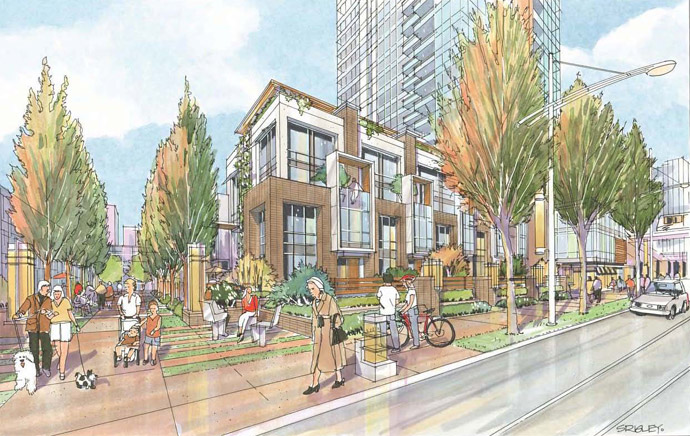 A master planned Burnaby real estate development in the heart of central Metrotown is being launched for presales right now.