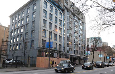 Downtown Vancouver Micro Lofts are coming to the eastside at Burns Block 18 West Hastings Street.