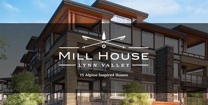 Lynn Valley Mill House North Vancouver condos for sale.