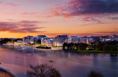 The Avenues of the World at Millennium Water Vancouver waterfront condo development