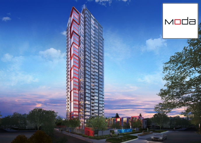 Presale Burnaby MODA Metrotown condos for sale by Polygon Homes