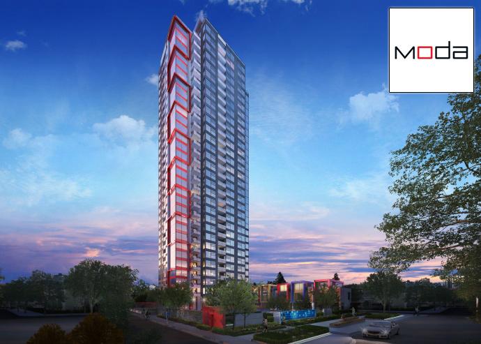 Presale Burnaby MODA Metrotown condos for sale by Polygon Homes