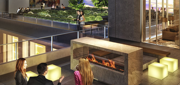 Premium Metrotown condo high-rise.