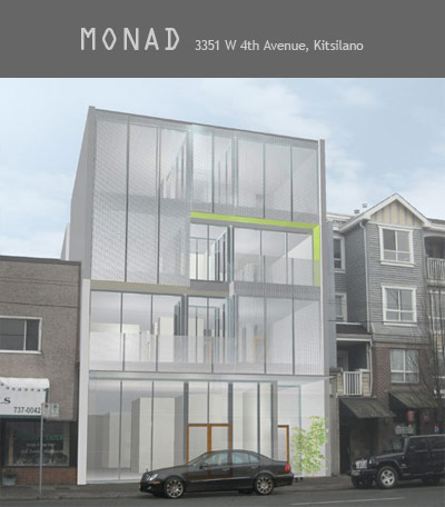 Luxury Kits condos at the Monad Vancouver real estate development are now selling.