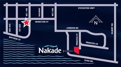 Located of the resale Nakade London Landing Richmond condos.