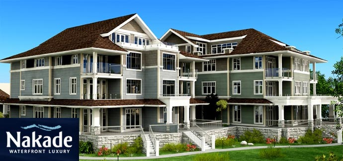 The waterfront Steveston Nakade Condos at London Landing are now sold out.