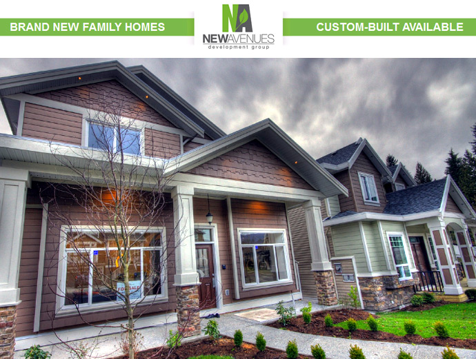 Burke Mountain Coquitlam homes by New Avenues Development Group