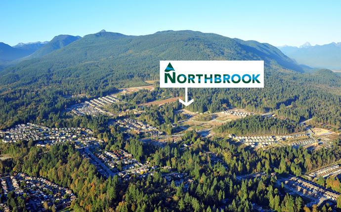 The Northbrook Townhouses are situated in the Coquitlam Burke Mountain real estate district