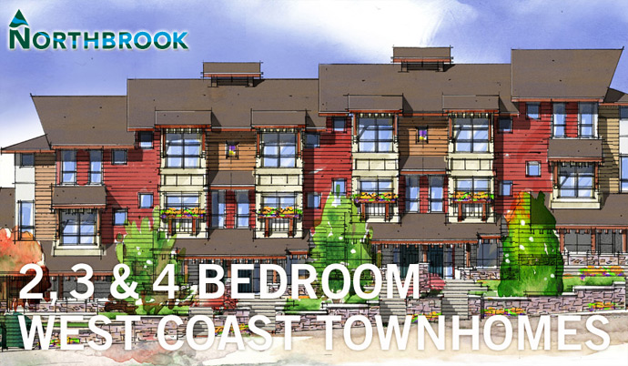 The Northbrook Coquitlam Townhomes by Citimark Developers